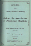 Gainesville Missionary Baptist Association