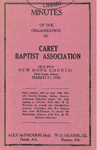 Carey Baptist Association by Carey Baptist Association