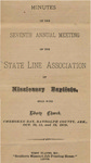 State Line Missionary Baptist Association by State Line Baptist Association