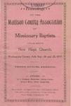 Madison County Association of Missionary Baptists