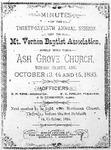 Mount Vernon Baptist Association
