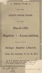 Buckville Baptist Association