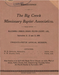 Big Creek Missionary Baptist Association by Big Creek Missionary Baptist Association