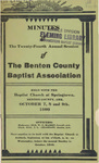 Benton County Baptist Association by Benton County Baptist Association