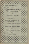 Carroll County Association of Missionary Baptists by Carroll County Association of Missionary Baptists