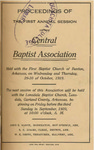 Central Baptist Association by Central Baptist Association