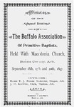 Buffalo Association of Primitive Baptists by The Buffalo Association of Primitive Baptists