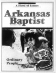 November 9, 1989 by Arkansas Baptist State Convention