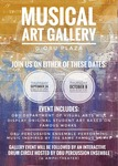 Musical Art Gallery by Department of Visual Arts and Percussion Ensemble