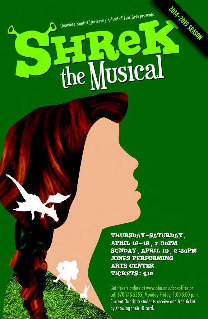 Shrek, The Musical: An OBU Music Theatre Production
