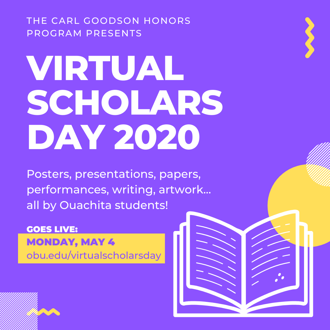 Virtual Scholars Day 2020