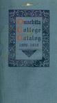 Ouachita College Catalog 1909-1910
