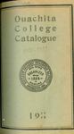 Ouachita College Catalogue 1911-1912