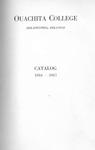 Ouachtia College Catalog 1916-1917