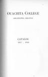 Ouachtia College Catalog 1917-1918