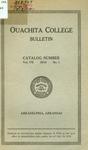 Ouachita College Bulletin 1918-1919