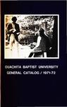 Ouachita Baptist University General Catalog 1971-72