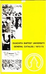 Ouachita Baptist University General Catalog 1972-1973