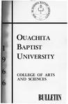 Ouachita Baptist University General Bulletin 1966-1967