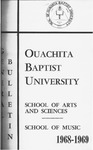 Ouachita Baptist University General Bulletin 1968-1969