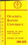 Ouachita Baptist University General Bulletin 1969-1970
