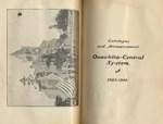Catalogue and Announcement of Ouachita-Central System 1903-1904