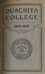 Ouachita College 1907-1908