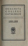 Ouachita College Catalogue 1908-1909