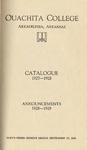 Ouachita College Catalogue 1927-1928