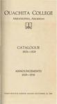 Ouachita College Catalogue 1928-1929