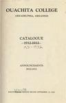 Ouachita College Catalogue 1931-1932