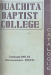 Ouachita Baptist College Catalogue 1951-1952
