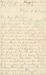2: 1775 November 19: Margaret Dunbar (Elgin) to William Dunbar,