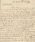 "6: 1782 September 10: Thomas Dunbar (New York) to William Dunbar ""Brother"""