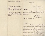 "13: 1810 October 14: W. Dunbar and J. Dunlop to S. Postlethwaite (""Relative to the last hours"" of William Dunbar) [copy]"