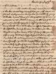 17: 1817 January 7: Archibald Dunbar (Cambridge) to Dinah Dunbar (Natchez) by Archibald Dunbar