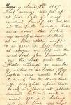 28: 1857 June 14: [Allie] to Julie by Allie Dunbar