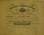 Elizabeth Parker Diploma