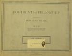 Footprints of Fellowship Scrapbook