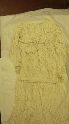 Etta Grey Cargile Gray Wedding Gown