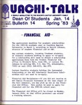 January 14, 1983 by Office of Student Services
