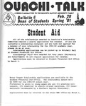 February 20, 1981 by Office of Student Services