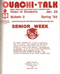 January 22, 1982 by Office of Student Services