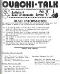 February 13, 1981 by Office of Student Services
