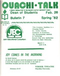 February 26, 1982 by Office of Student Services