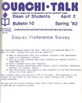 March 26, 1982 by Office of Student Services