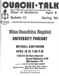 April 9, 1982 by Office of Student Services