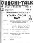 October 2, 1981 by Office of Student Services