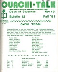 November 13, 1981 by Office of Student Services