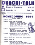 November 20, 1981 by Office of Student Services
